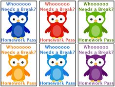 Homework pass clipart graphic library 56 Best Homework passes images in 2017 | Homework pass, Class ... graphic library