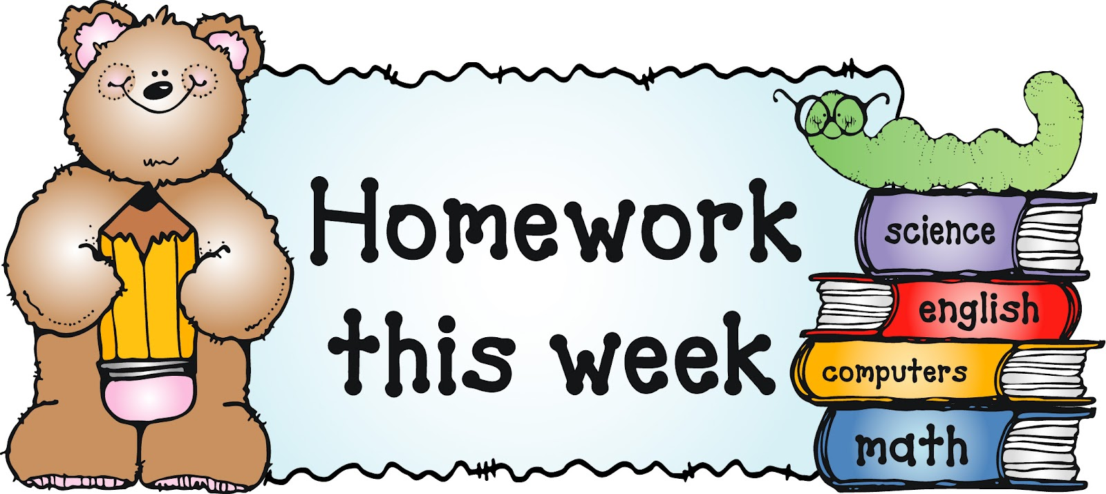 Homework sheet clipart png free library Homework sheet finder png free library