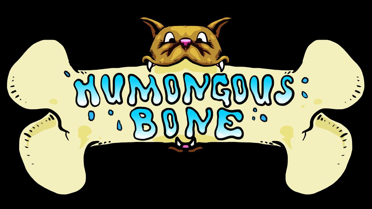 Homongous clipart image free stock Humongous Bone image free stock