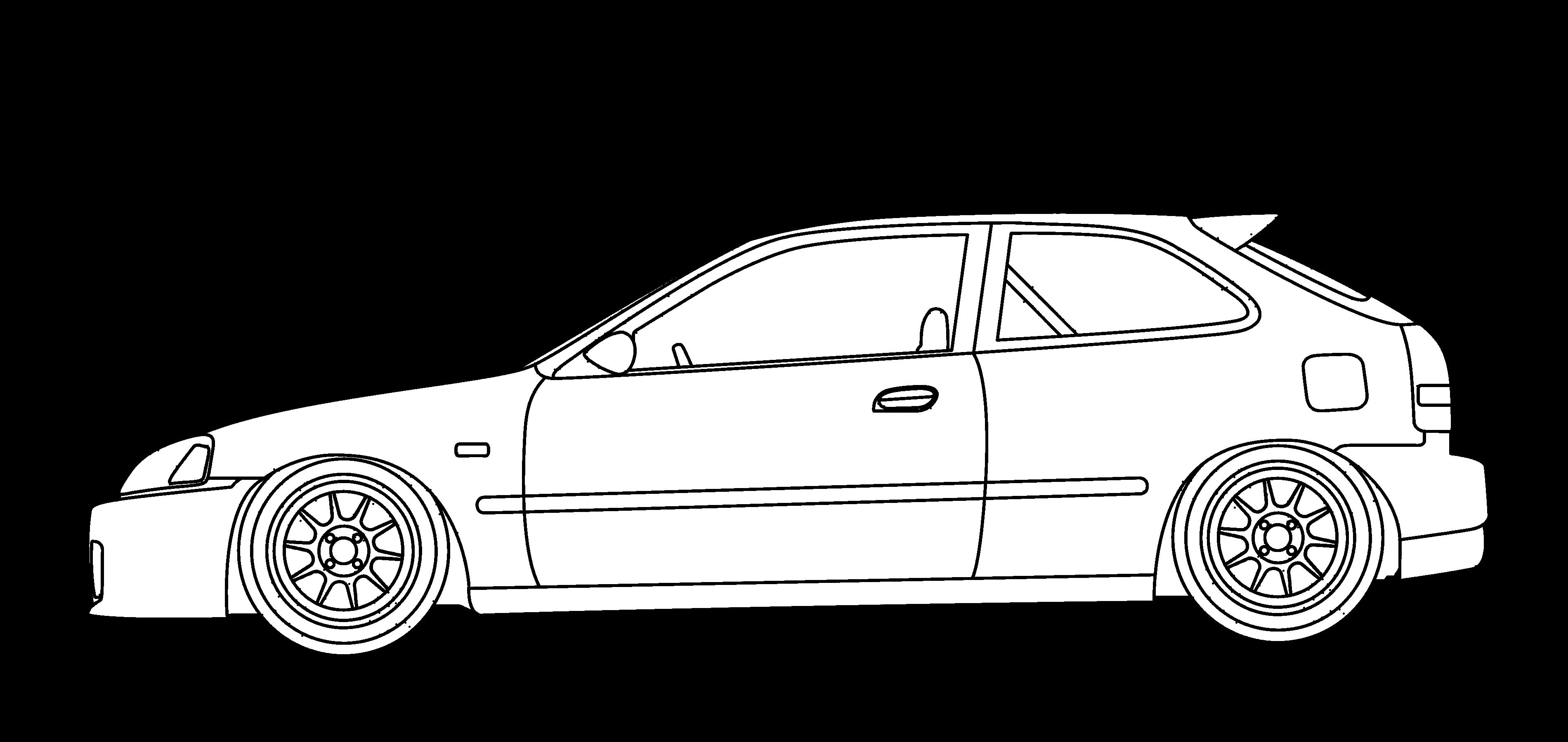 Honda civic si clipart clip art transparent stock Honda Civic EK9   Hondas Only   Honda civic hatchback, Honda civic ... clip art transparent stock