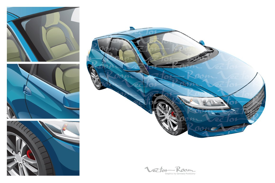 Honda cr z clipart free Vector Room on Twitter: \
