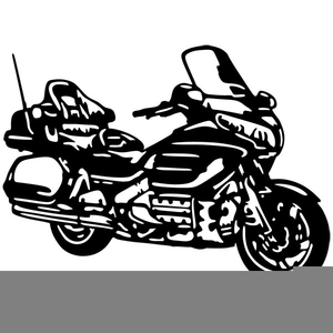Honda motorcycle clipart vector transparent library Honda Motorcycle Clipart   Free Images at Clker.com - vector clip ... vector transparent library