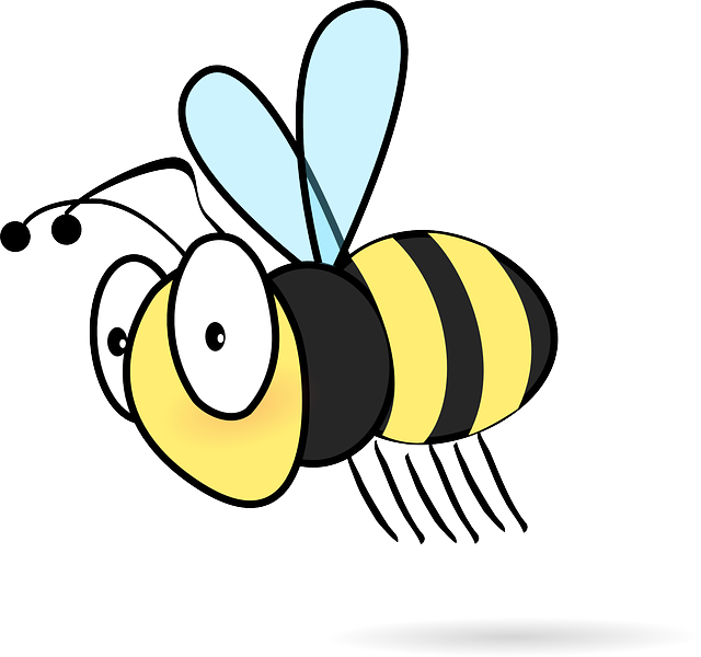 Honeybee with book clipart jpg library library Bee Movie Clipart at GetDrawings.com   Free for personal use Bee ... jpg library library