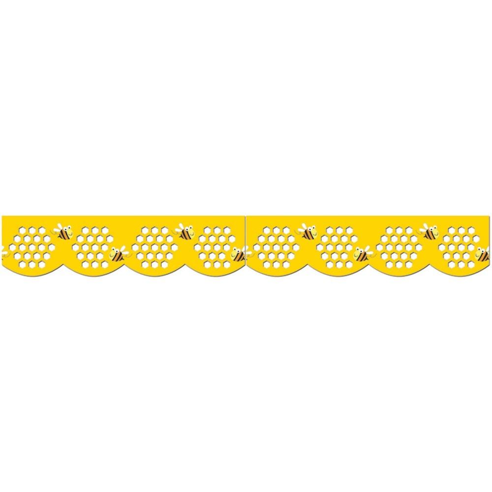 Honeycomb border clipart download Honeycomb Jumbo Stencil-Cut Border download