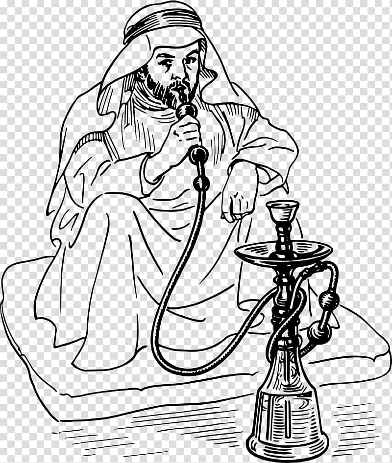 Hookah smoking girl clipart clipart black and white stock Tobacco pipe Hookah Smoking , others transparent background PNG ... clipart black and white stock