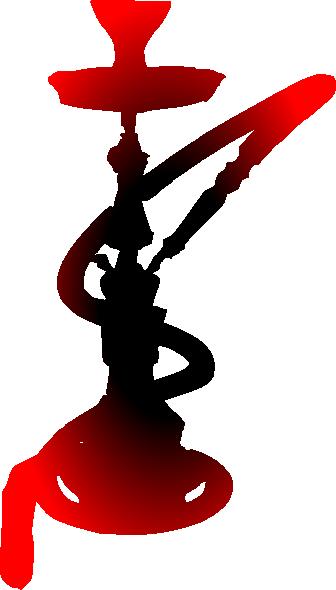Hookah smoking girl clipart clip black and white stock animated hhokak | Hookah clip art - vector clip art online, royalty ... clip black and white stock
