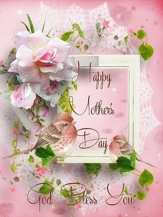 Hope you had a great mother s day weekend clipart stock Happy Mothers Day God Bless You   Happy mothers   Happy mother day ... stock