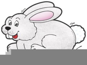 Hopping bunny clipart image library stock Free Hopping Bunny Clipart | Free Images at Clker.com - vector clip ... image library stock