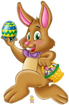 Hopping easter bunny clipart picture free stock Easter Bunny Clipart – HD Easter Images picture free stock
