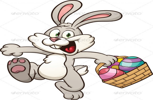 Hopping easter bunny clipart banner library stock Hopping Easter Bunny Clipart Www.imgarcade.com Online - Free Clipart banner library stock