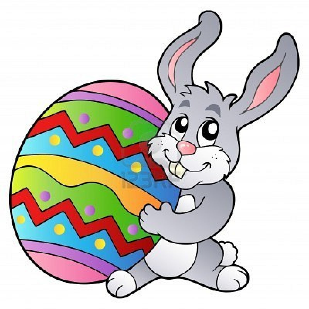Hopping easter bunny clipart image free stock 45+ Easter Bunny Clipart | ClipartLook image free stock