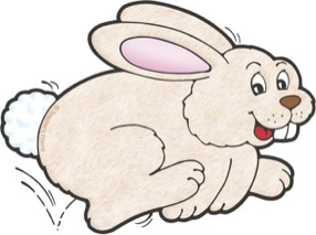 Hopping rabbit clipart svg library Hopping rabbit clipart 5 » Clipart Station svg library