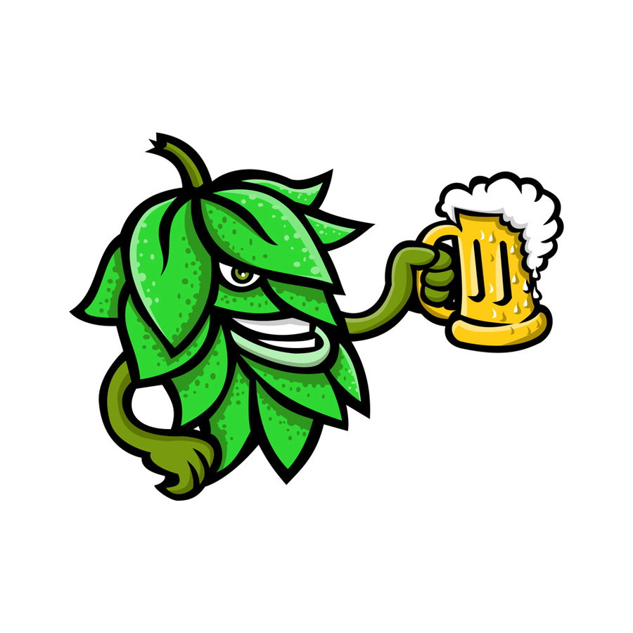Hops beer clipart clipart library download Download Hops clipart Beer Hops | Beer,Illustration,Green,Plant,Leaf ... clipart library download