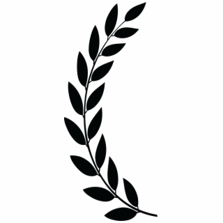 Horizontal laurel twig clipart black and white png freeuse library Free Laurel PNG Images & Cliparts - Pngtube png freeuse library