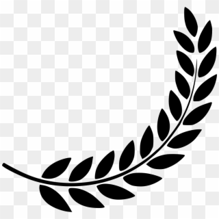 Horizontal laurel twig clipart black and white svg black and white stock Laurel Wreath PNG Images, Free Transparent Image Download - Pngix svg black and white stock