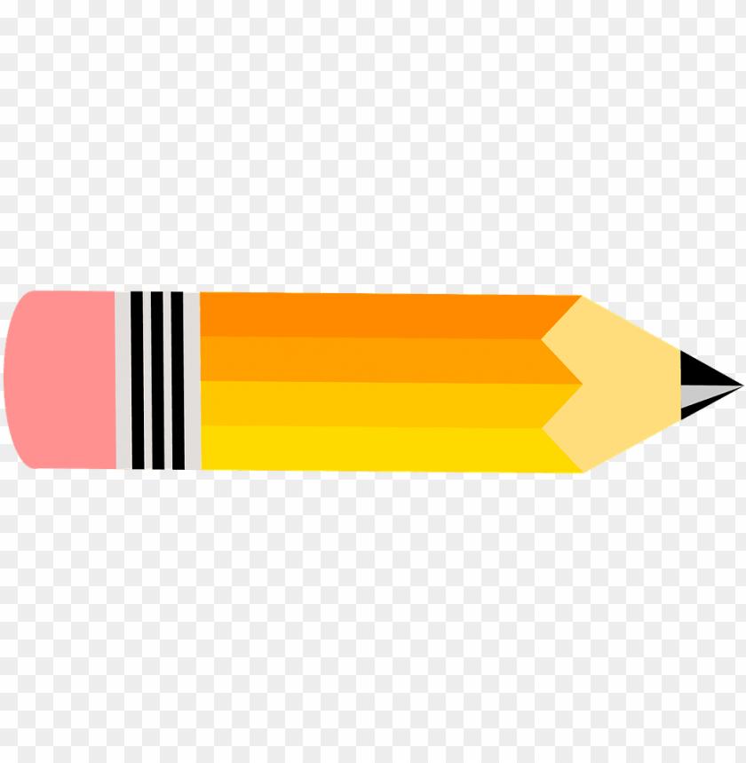 Horizontal pencil clipart clip art transparent stock 06, 5 november 2015 - horizontal pencil clipart PNG image with ... clip art transparent stock