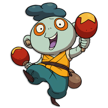 Horn clipart squeak freeuse Squeeky | Yo-kai Watch Wiki | FANDOM powered by Wikia freeuse