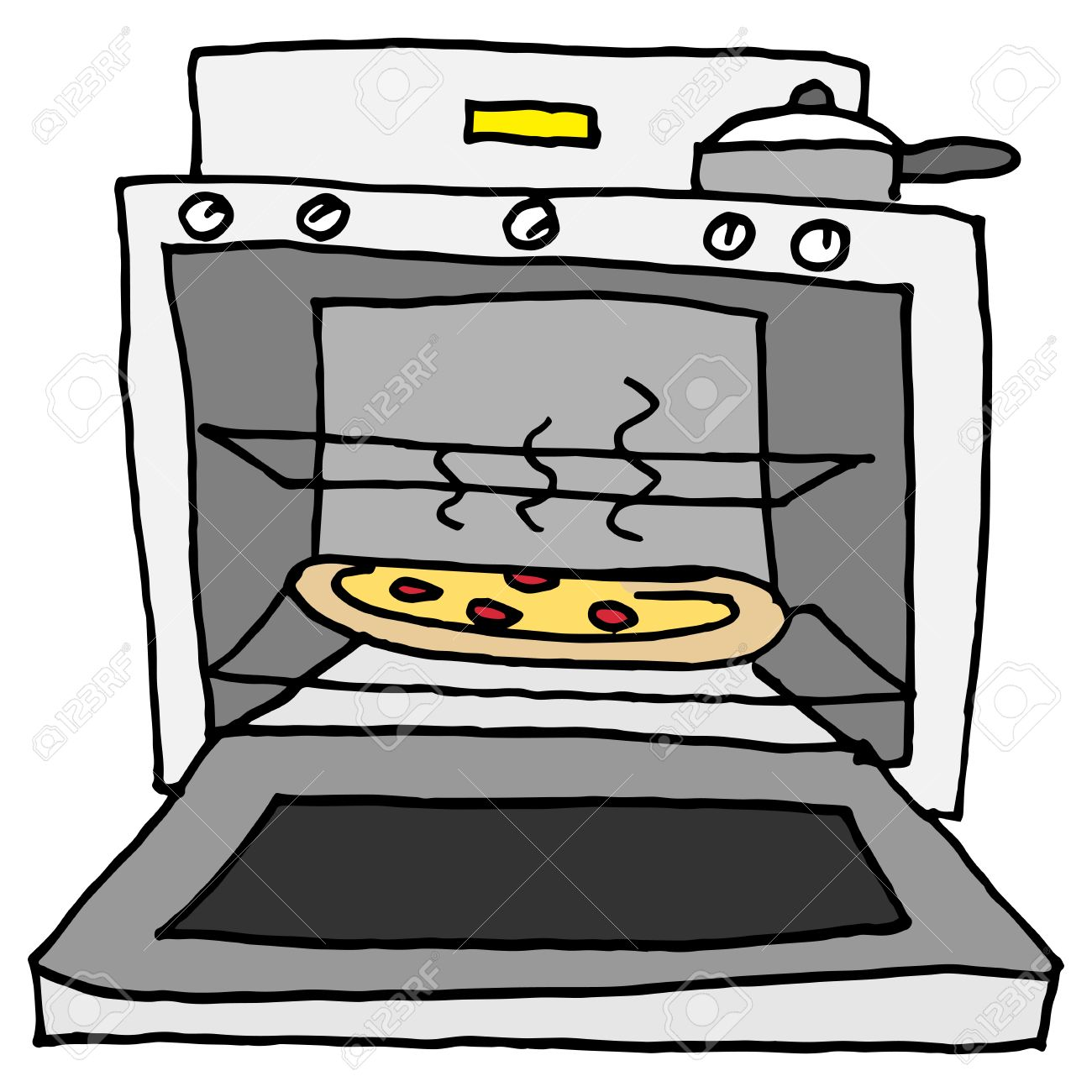 Horno clipart image black and white stock 14 cliparts for free. Download Oven clipart horno and use in ... image black and white stock