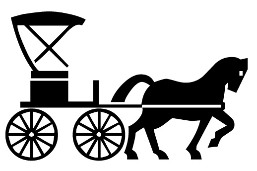 Horse and carriage clipart graphic library Free Horse-Drawn Carriage Cliparts, Download Free Clip Art ... graphic library