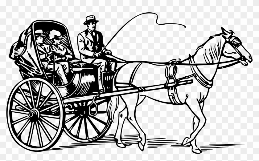 Horse and carriage clipart graphic royalty free Horse Drawn Carriage Clipart Old Fashioned - Horse Cart ... graphic royalty free