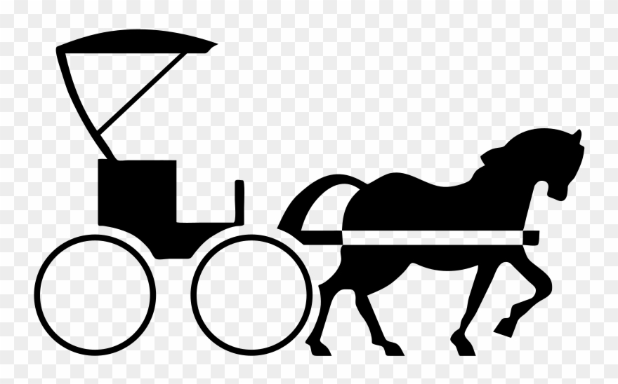Horse and carriage clipart picture download Horse Drawn Carriage Clipart Transparent - Horse And Buggy ... picture download