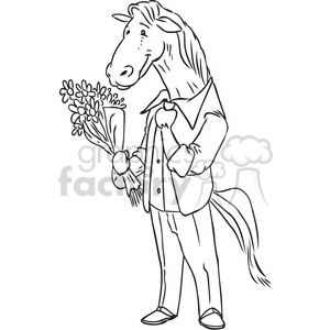 Horse and medieval rider black and white clipart clip art royalty free stock horse clipart - Royalty-Free Images | Graphics Factory clip art royalty free stock
