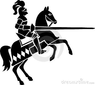 Horse and medieval rider black and white clipart picture free stock knight clip art | Lancer | Knight on horse, Knight, Medieval ... picture free stock