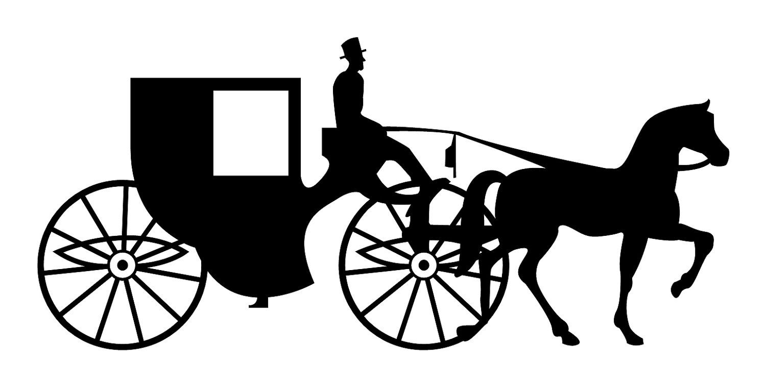 Horse and wagon clipart svg transparent Vehicles For > Cinderella Horse And Carriage Clipart | HORSE ... svg transparent