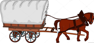 Horse and wagon clipart graphic royalty free Clipart Horse And Wagon | Free Images at Clker.com - vector ... graphic royalty free