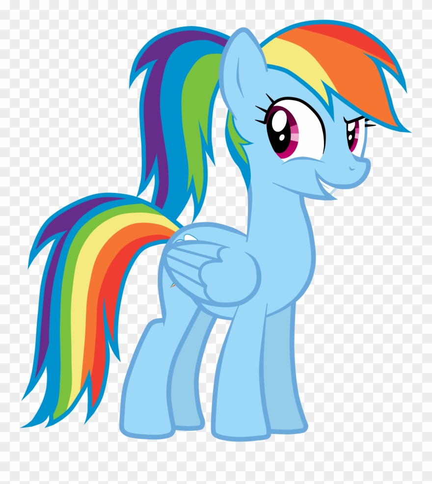 Horse butt clipart graphic royalty free stock Ponytail Clipart Horse Tail - Mlp Rainbow Dash Hairstyles ... graphic royalty free stock