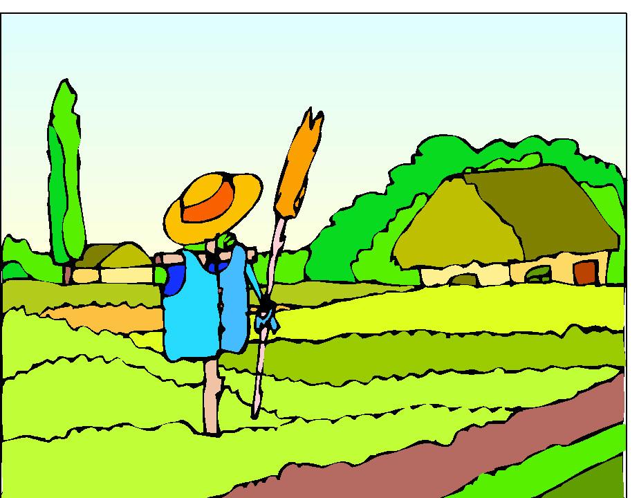 Horse cart clipart farmer bushel line drawing graphic download Free Cornfield Clipart, Download Free Clip Art, Free Clip ... graphic download