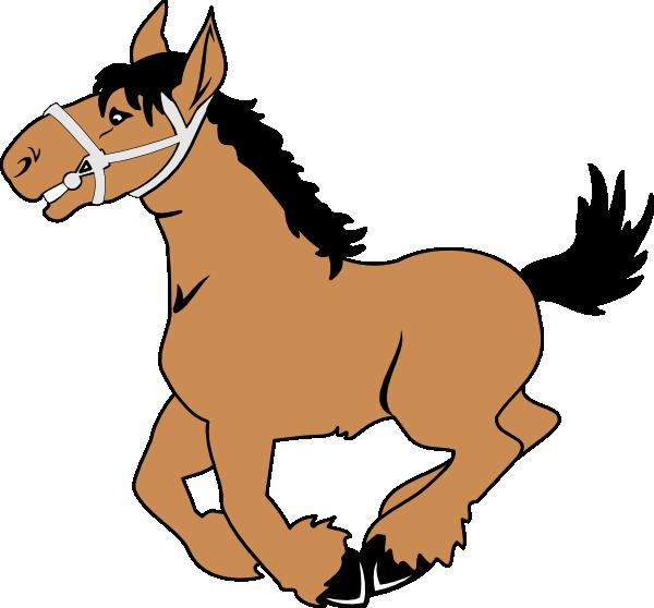 Horse cartoon clipart clipart transparent download Cartoon Horse Clip Art at Clker.com - vector clip art online ... clipart transparent download