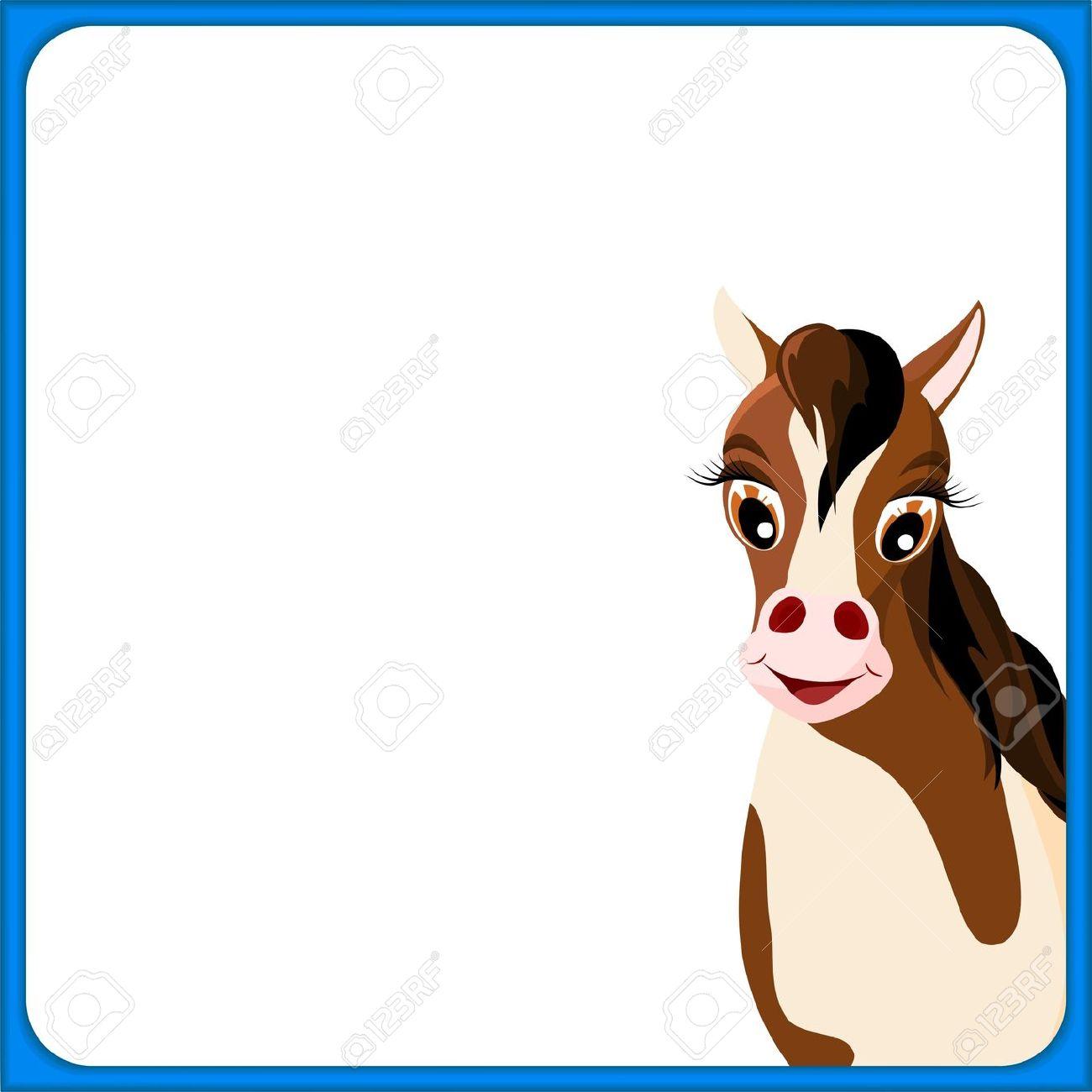 Horse clip art borders jpg royalty free stock Horse border clipart - ClipartFox jpg royalty free stock
