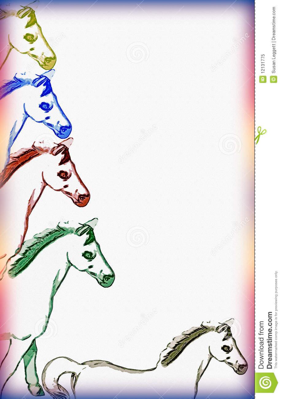Horse clip art borders image royalty free Free Horse Border Clipart - Clipart Kid image royalty free