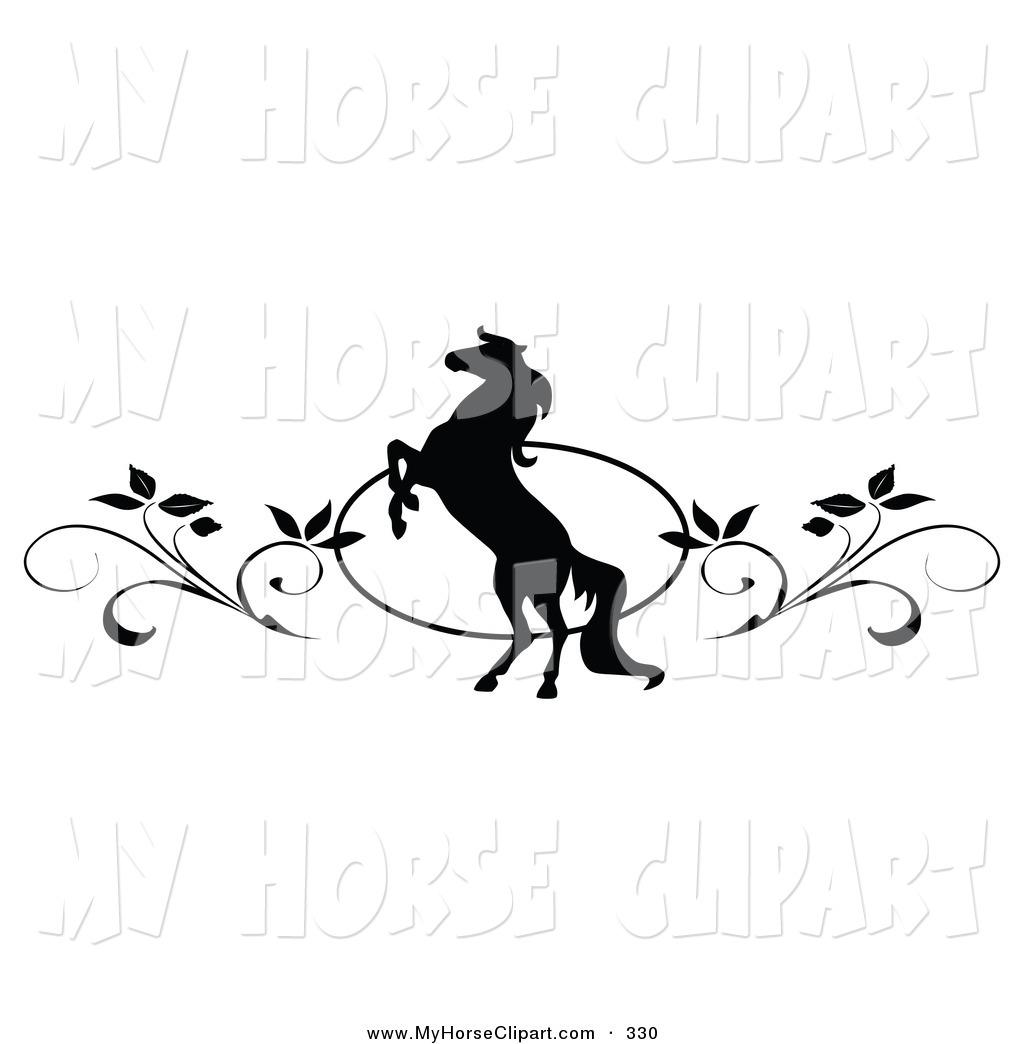 Horse clip art borders clip art library stock Free Horse Border Clipart - Clipart Kid clip art library stock