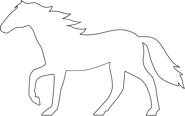 Horse clipart outline clip freeuse stock Logos | EJE Art Works - ClipArt Best - ClipArt Best | Cards ... clip freeuse stock