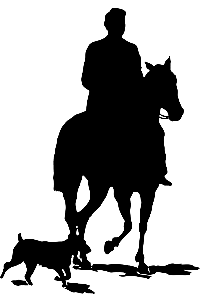Horse dog cat clipart freeuse download Horse Silhouette freeuse download