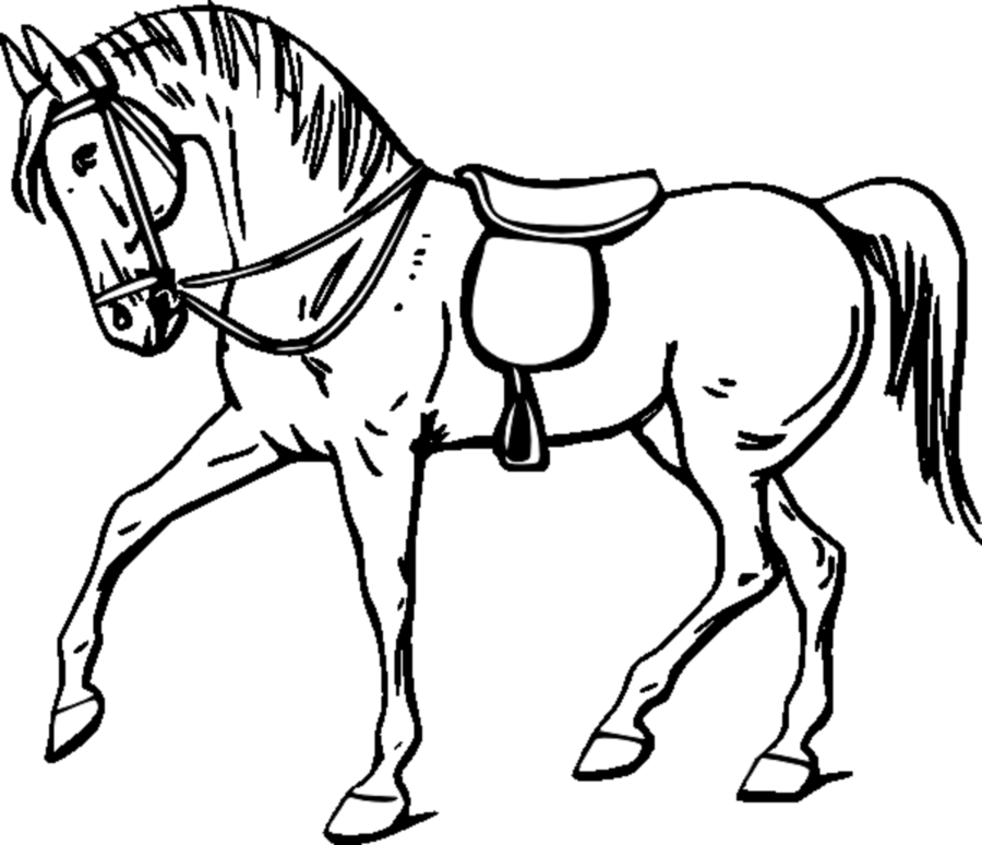 Horse drawing clipart vector transparent library Book Black And White clipart - Horse, Drawing, Child ... vector transparent library