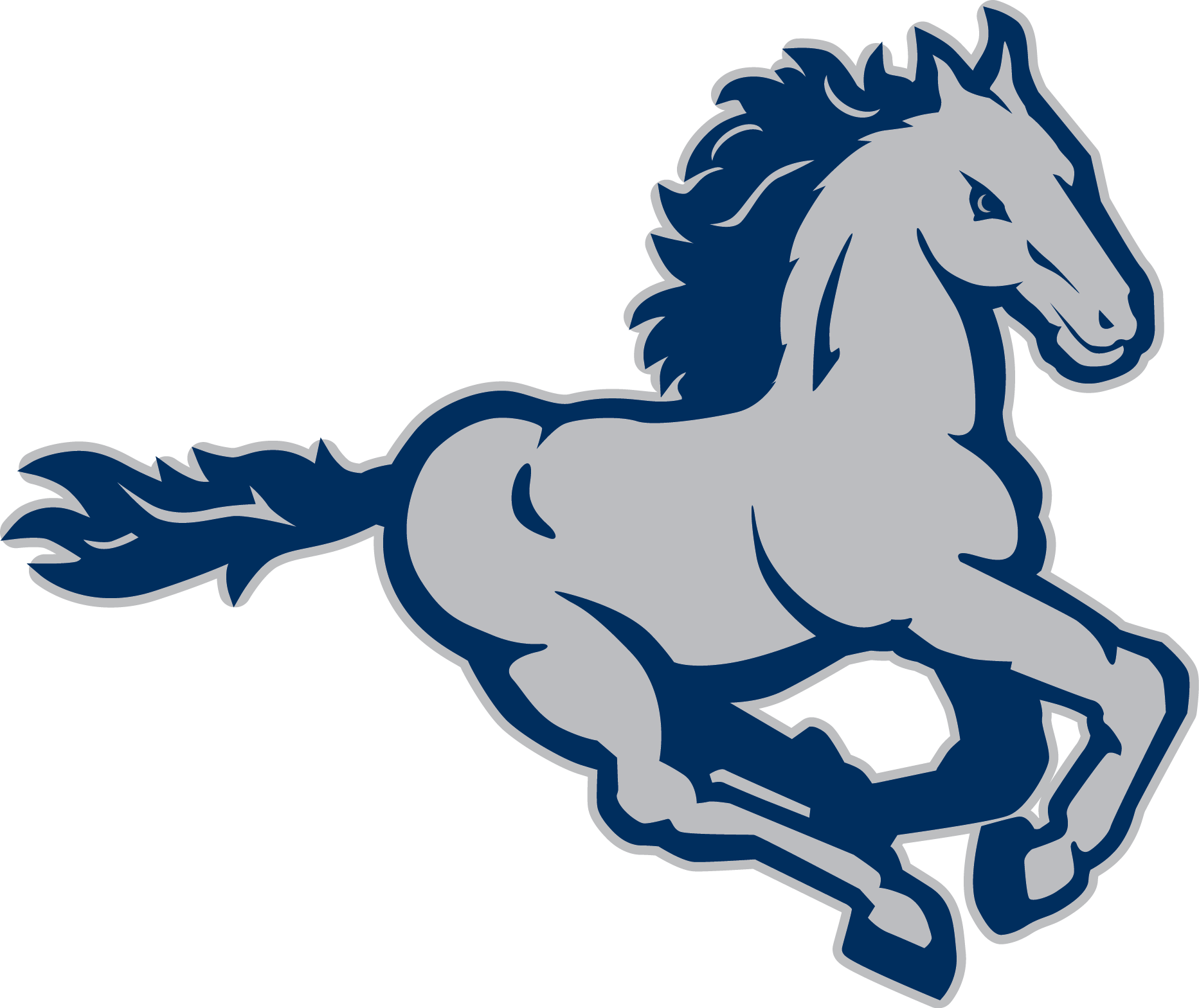 Horse football mascot clipart picture stock MurchisonMustang.png (1865×1569) | Stallions-Mustangs Logos ... picture stock