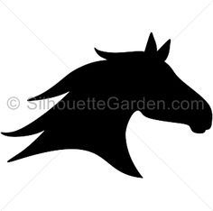 Horse head silhouette clipart images jpg stock Pin by Jeanie Prien on crafts | Horse clip art, Horses ... jpg stock