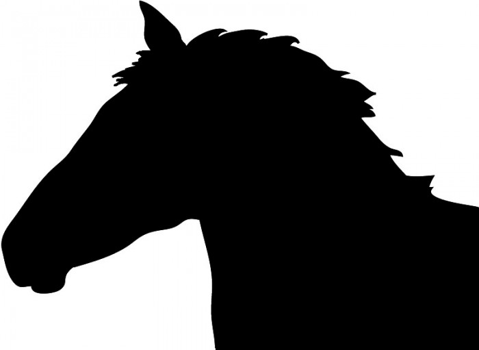 Horse head silhouette clipart images jpg royalty free Horse Head Silhouette Png Image Vector, Clipart, PSD ... jpg royalty free