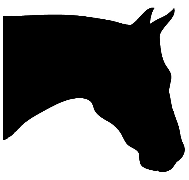 Horse head silhouette clipart images freeuse library Horse Silhouette freeuse library