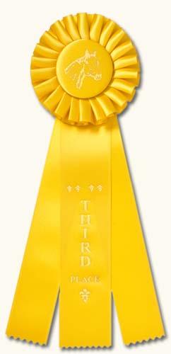 Horse ribbon clipart graphic transparent Horse Show Rosettes: Traditional Horse Show Rosette Awards graphic transparent