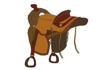 Horse saddle clipart vector Free Western Saddle Cliparts, Download Free Clip Art, Free ... vector