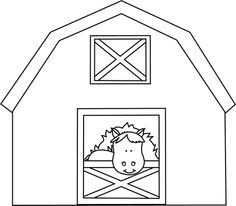 Horse stable clipart black and white jpg royalty free library Horse stable clipart black and white 2 » Clipart Portal jpg royalty free library