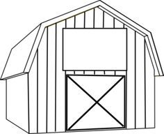 Horse stable clipart black and white png library download Stable clipart black and white » Clipart Portal png library download