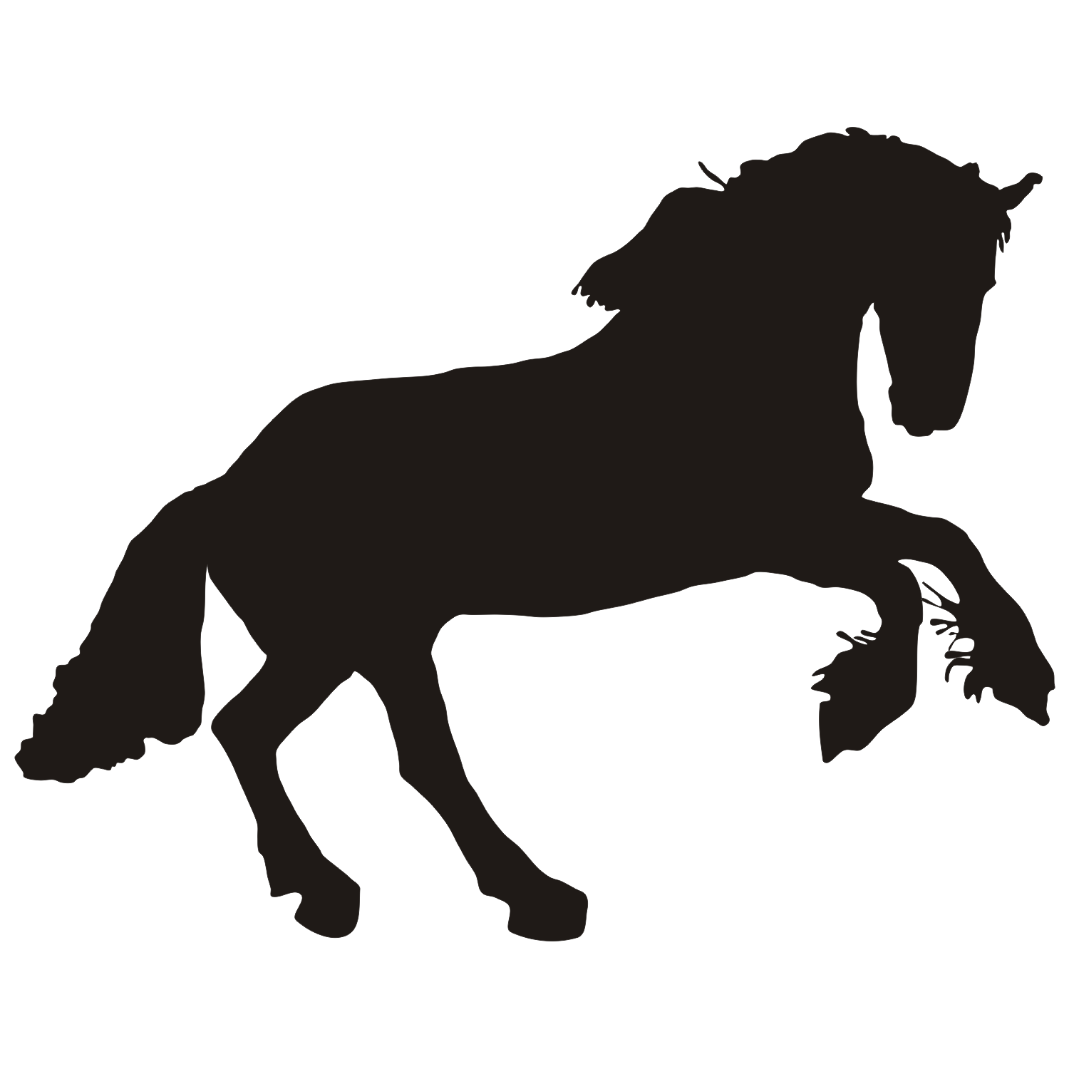 Horse vector clipart jpg freeuse Free Vector Horse, Download Free Clip Art, Free Clip Art on ... jpg freeuse
