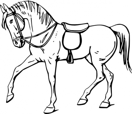 Horses black and white clipart clip black and white stock Free Free Images Of Horses, Download Free Clip Art, Free ... clip black and white stock