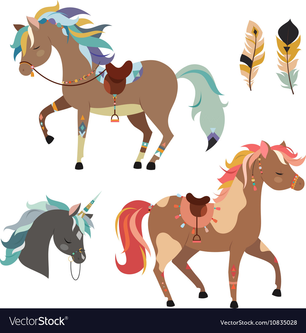 Horses clipart images picture freeuse stock Tribal horses clipart picture freeuse stock