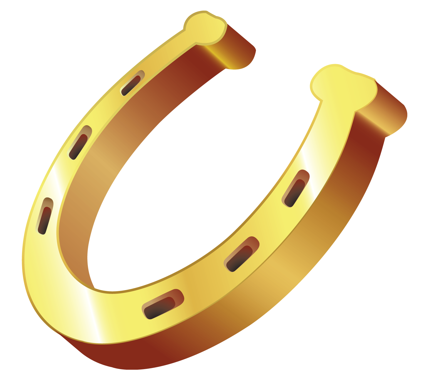 Horseshoe star clipart vector Gold Horseshoe PNG Clipart | Gallery Yopriceville - High-Quality ... vector